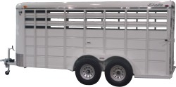 livestock trailer at Cox Trailer Sales in Maryland